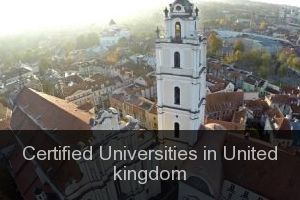 Certified Universities in United kingdom
