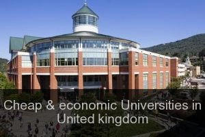 Cheap & economic Universities in United kingdom