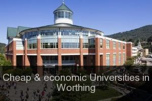 Cheap & economic Universities in Worthing