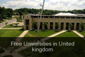 Free Universities in United kingdom