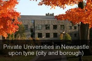 Private Universities in Newcastle upon tyne (city and borough)
