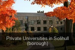 Private Universities in Solihull (borough)