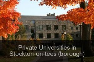 Private Universities in Stockton-on-tees (borough)