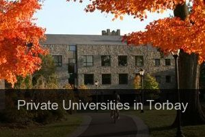 Private Universities in Torbay