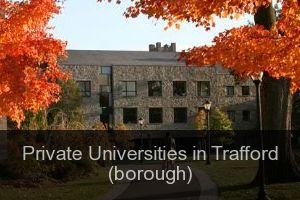 Private Universities in Trafford (borough)