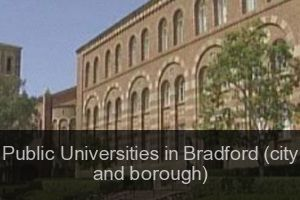 Public Universities in Bradford (city and borough)