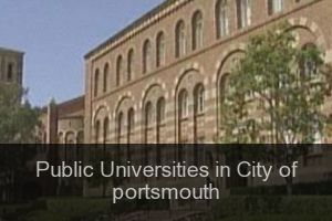 Public Universities in City of portsmouth