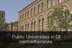 Public Universities in Of carmarthenshire