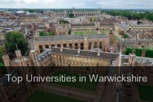 Top Universities in Warwickshire