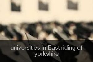 Universities in East riding of yorkshire