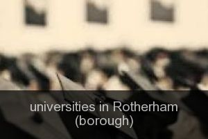 Universities in Rotherham (borough)