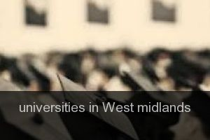 Universities in West midlands