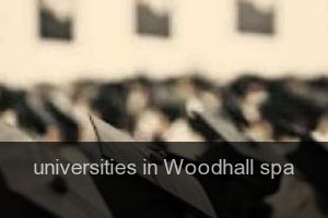 Universities in Woodhall spa